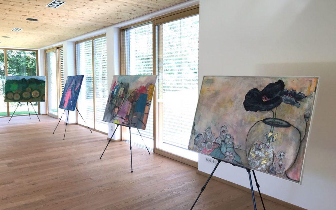 Ausstellung im Hotel Kranzbichlhof – Bad Dürrnberg 1. bis 31. Juli 2018